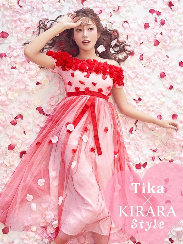 d5568b78a23e2 ピンクドレスはTika(ティカ)通販:ピンクは人気No1